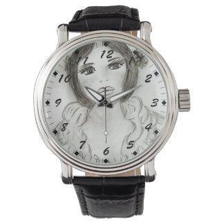 Relógio Menina Ruffled do Flapper