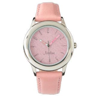 Relógio Meninas do rosa e da ameixa