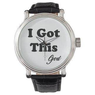 Relógio Mensagem do deus