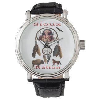 Relógio Mercnandise da nação de Sioux
