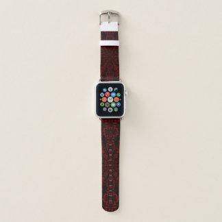 relógio metálico da banda da assinatura de Apple