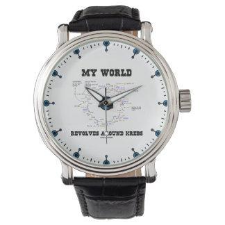 Relógio Meu mundo revolve em torno do humor da bioquímica