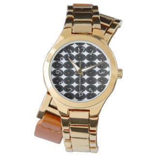Relógio Modern_Geometric_Abstract_Unisex_Multi-Styles