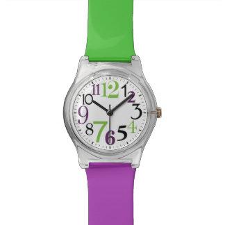 relógio moderno funky de may28th