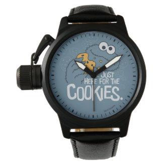 Relógio Monstro do biscoito   mim apenas aqui para os