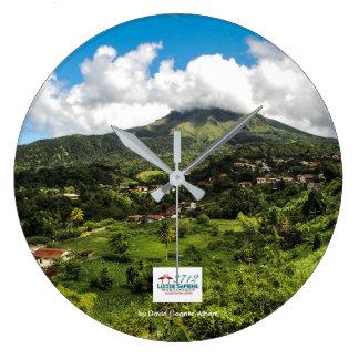 Relógio Montanha Descascada de Martinica