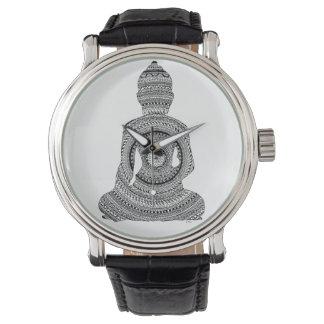 Relógio Mostre Buda GraphiZen