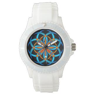 Relógio mulheres feitas sob encomenda do monograma da