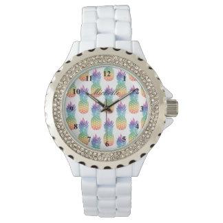 Relógio Mulheres tropicais feitas sob encomenda do teste