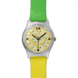 Relógio Multi-Colorido teste padrão da banda do