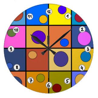 Relógio mural redonda Fantasia