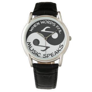 Relógio Música de Yin yang