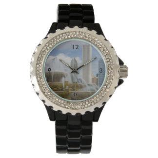 Relógio Na fonte de Buckingham