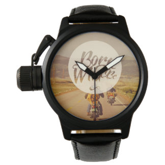 Relógio Nascer a ser selvagem