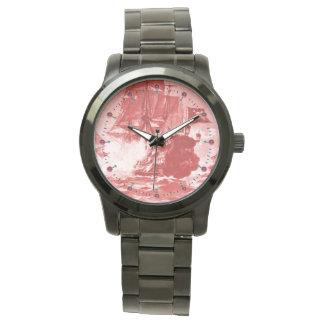 Relógio Náutico branco vermelho da antiguidade da BATALHA
