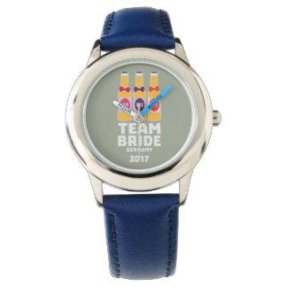Relógio Noiva Alemanha da equipe 2017 Z36e6