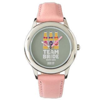 Relógio Noiva Dinamarca da equipe 2017 Zni44
