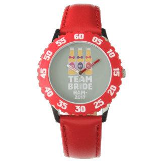 Relógio Noiva Hamburgo da equipe 2017 Z8k41