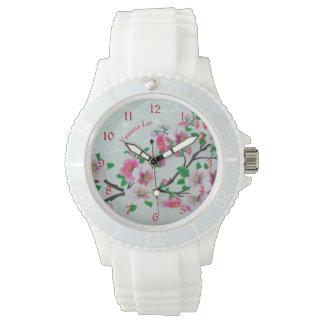 Relógio Nomeie sua flor de Apple