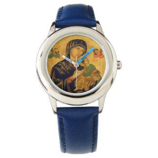 Relógio Nossa mãe da ajuda perpétua