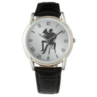 Relógio Numerais romanos de w do jogador do