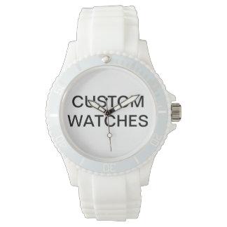 Relógio O costume personalizou o vazio cor-de-rosa do