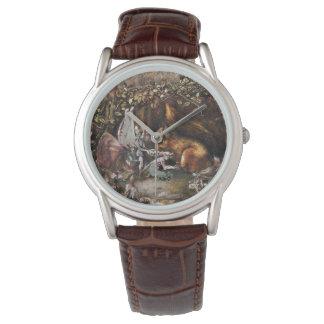 Relógio O esquilo ferido