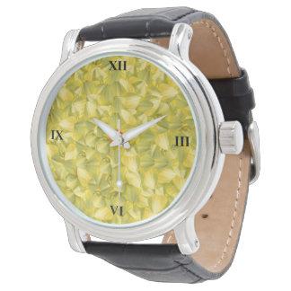 Relógio O poder das pétalas