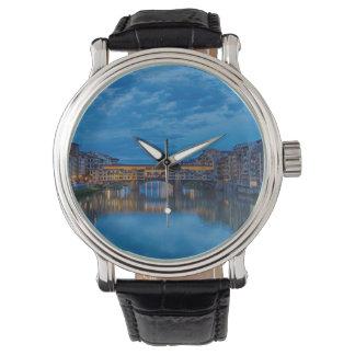 Relógio O Ponte Vecchio em Florença