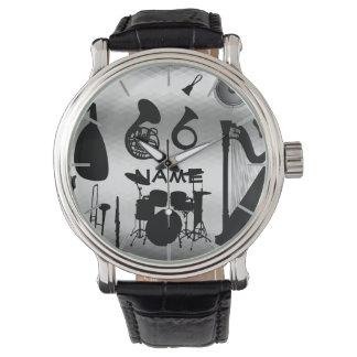 Relógio O presente de professor de música personalizado
