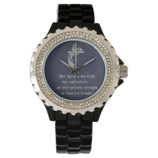 Relógio O senhor é minha rocha