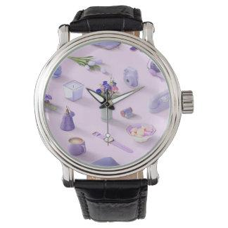 Relógio O sonho roxo da menina