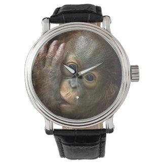 Relógio Orangotango