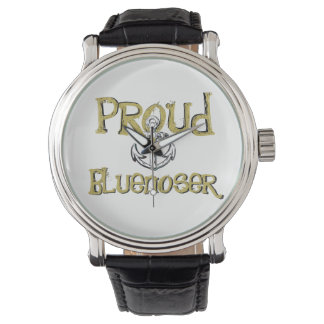 Relógio orgulhoso da âncora de Bluenoser Nova