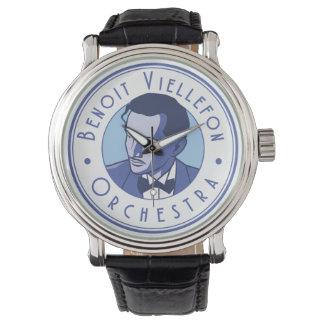 Relógio - orquestra de Benoit (logotipo azul)
