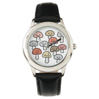 Relógio Os amigos do cogumelo que penduram para fora