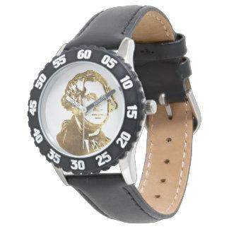 Relógio Ouro americano do retrato do presidente George
