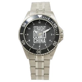 Relógio outta reto China