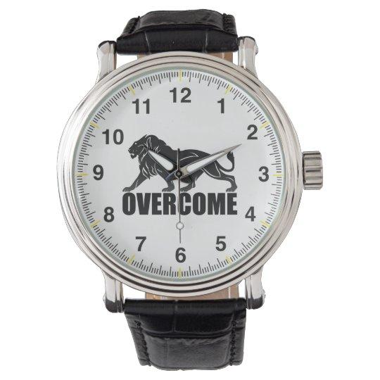 Relógio overcome