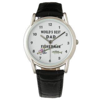 Relógio Pai do pai da pesca o melhor