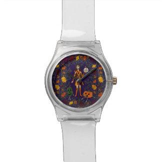 Relógio País das fadas do outono