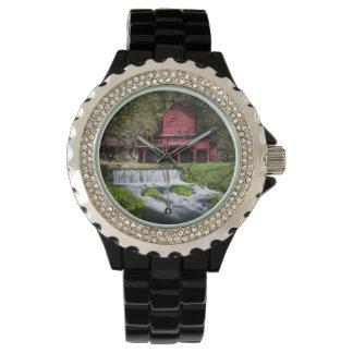Relógio Paisagem do moinho de água de Hodgson