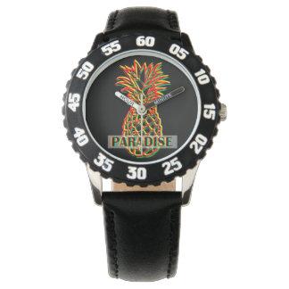 Relógio Paraíso do abacaxi
