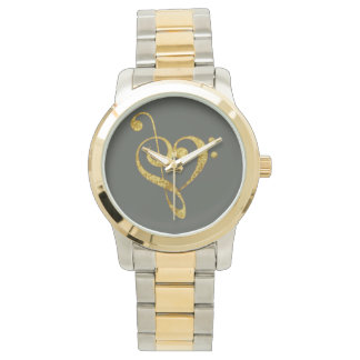 Relógio passionately musical - jóia
