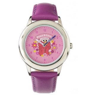 Relógio Paz & amor de Elmo |