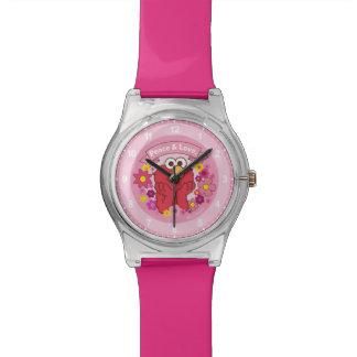 Relógio Paz & amor de Elmo  