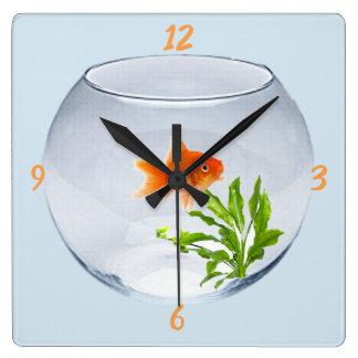 Relógio Peixe Vermelho