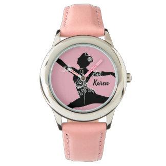 Relógio personalizado do dançarino