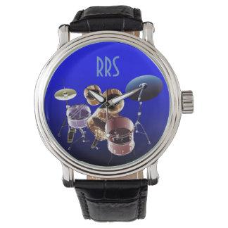 Relógio personalizado grupo do presente do