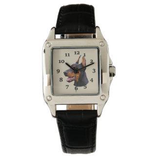 Relógio Pinscher do Doberman